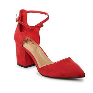 1352a4f56 LC Lauren Conrad Apple Pie Women s Platform High Heels. (2). Sale