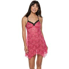 Women's Apt. 9® Sheer Lace Sleep Chemise