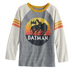 Boys 4-12 Jumping Beans® Retro DC Comics Batman Raglan Graphic Tee