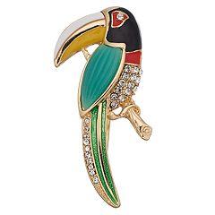 Napier Toucan Pin
