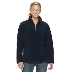 Women's Be Boundless Popcorn Fleece Quarter-Zip Pullover