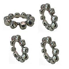 St. Nicholas Square® Sleigh Bell Napkin Rings