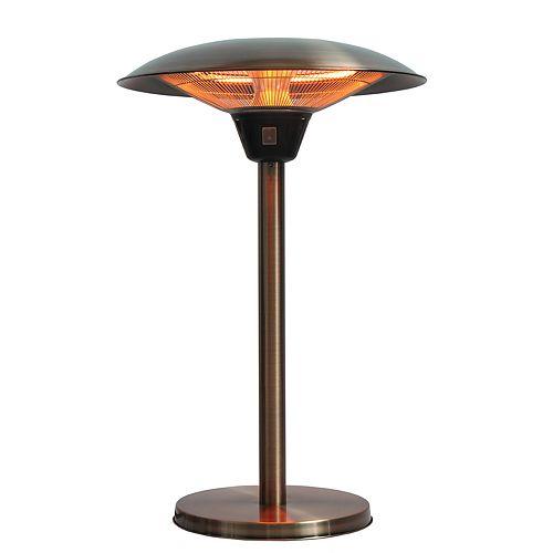 - Fire Sense Cimarron Copper Finish Table Top Patio Heater