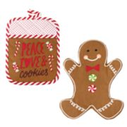 St. Nicholas Square® Gingerbread Oven Mitt