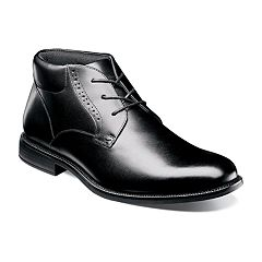 Nunn Bush Nantucket Men's Waterproof Plain Toe Dress Chukka Boots