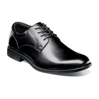 Nunn Bush Nantucket Men?s Waterproof Plain Toe Dress Oxford Shoes