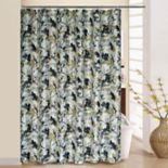 Waverly Leaf Storm Shower Curtain & Rings