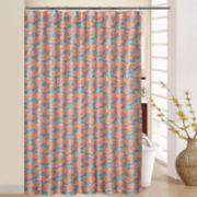 Waverly Beach Social Shower Curtain & Rings