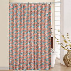 Waverly Beach Social Shower Curtain & Rings