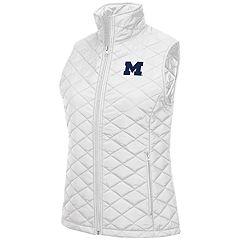 Women's Michigan Wolverines Elite Quilted Vest