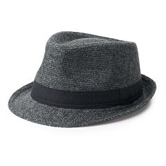 Men's Urban Pipeline™ Textured Cross-Weave Fedora
