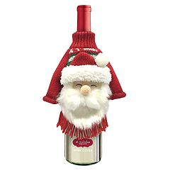 St. Nicholas Square® Santa Ugly Sweater Wine Cover