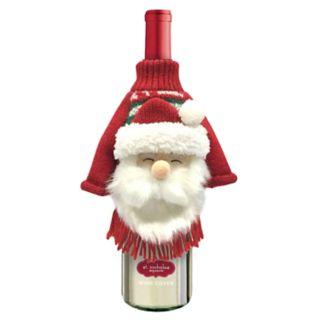 St. Nicholas Square® Santa Ugly Sweater Wine Cover