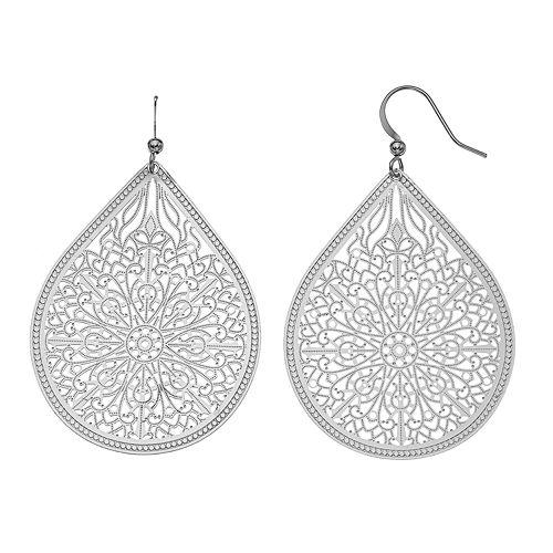 SONOMA Goods for Life® Filigree Teardrop Earrings