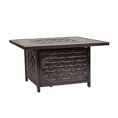 Fire Sense Armstrong Outdoor Gas Fire Pit Coffee Table