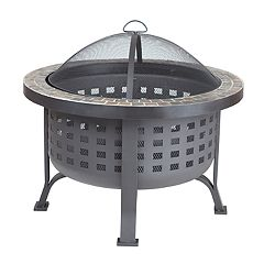 Fire Sense Alpina Round Outdoor Fire Pit