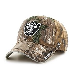 Adult '47 Brand Oakland Raiders Frost Realtree Adjustable Cap