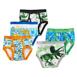 Boys 4-8 Jurassic World 5-Pack Briefs