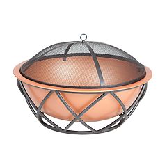 Fire Sense Barzelonia Round Outdoor Fire Pit
