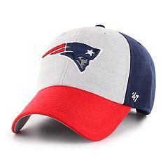Adult  47 Brand New England Patriots Team Color Adjustable Cap 6863d7dd3d2b