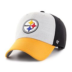 415a58a2e Adult  47 Brand Pittsburgh Steelers Team Color Adjustable Cap