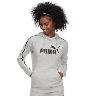 Women's PUMA Graphic Tape Raglan Hoodie