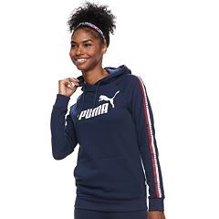 Women's PUMA Graphic Tape Raglan Hoodie