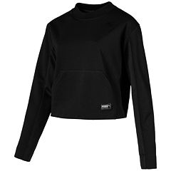 Women's PUMA Fusion Cropped Sweatshirt