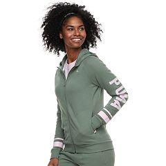 Women's PUMA Athletic Zip-Up Hoodie