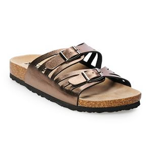 d1bad74a1845 Sale.  17.99. Regular.  24.00. Women s Mudd® Perforated Double Strap Sandals
