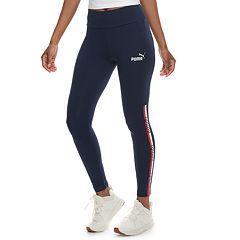 Women's PUMA Graphic Tape High-Waisted Leggings