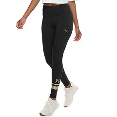 Women's PUMA Athletic Logo High-Waisted Leggings