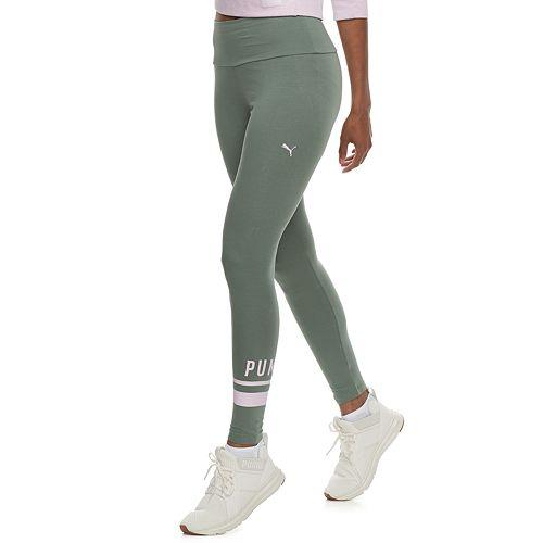 8947b8bde20ee6 Women's PUMA Athletic Logo High-Waisted Leggings