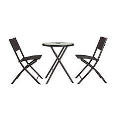 Patio Sense SoBe Indoor / Outdoor Light-Up Bistro Table & Chair 3-piece Set