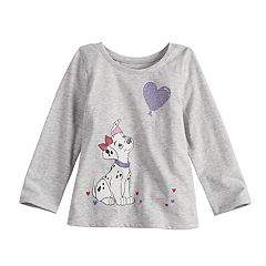 Disney's 101 Dalmations Glittery Graphic Tee by  Disney/Jumping Beans®