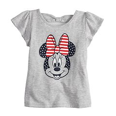 Disney's Minnie Mouse Toddler Girl Americana Graphic Tee Disney/Jumping Beans®
