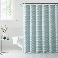1888 Mills Kalahari Ikat Ogee Shower Curtain