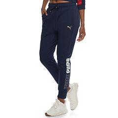Women's PUMA Modern Sport Mid-Rise Track Pants
