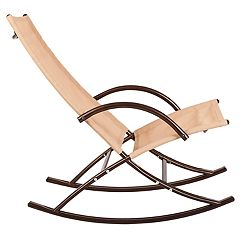 Patio Sense Chamonix Indoor / Outdoor Sling Rocking Chair