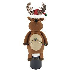 St. Nicholas Square® Reindeer Wine Cover