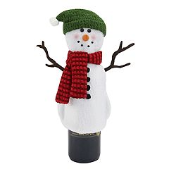 St. Nicholas Square® Top Hat Snowman Wine Cover