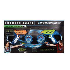 Sharper Image Laser Tag Dual Blaster and Target Kit
