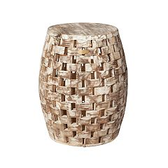 Patio Sense Maya Indoor / Outdoor Wood Stool