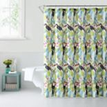 1888 Mills Tropical Toucans Shower Curtain