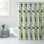 1888 Mills Tropical Toucans Shower Curtain