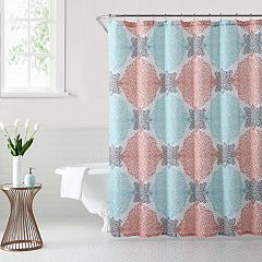 1888 Mills Ava Medallion Shower Curtain