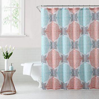 1888 Mills Ava Medallion Shower Curtain