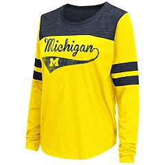 Women's Michigan Wolverines My Way Tee