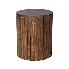 Patio Sense Michael Indoor / Outdoor Wood Stool