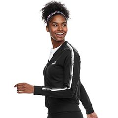 Women's PUMA Graphic Tape Full-Zip Jacket